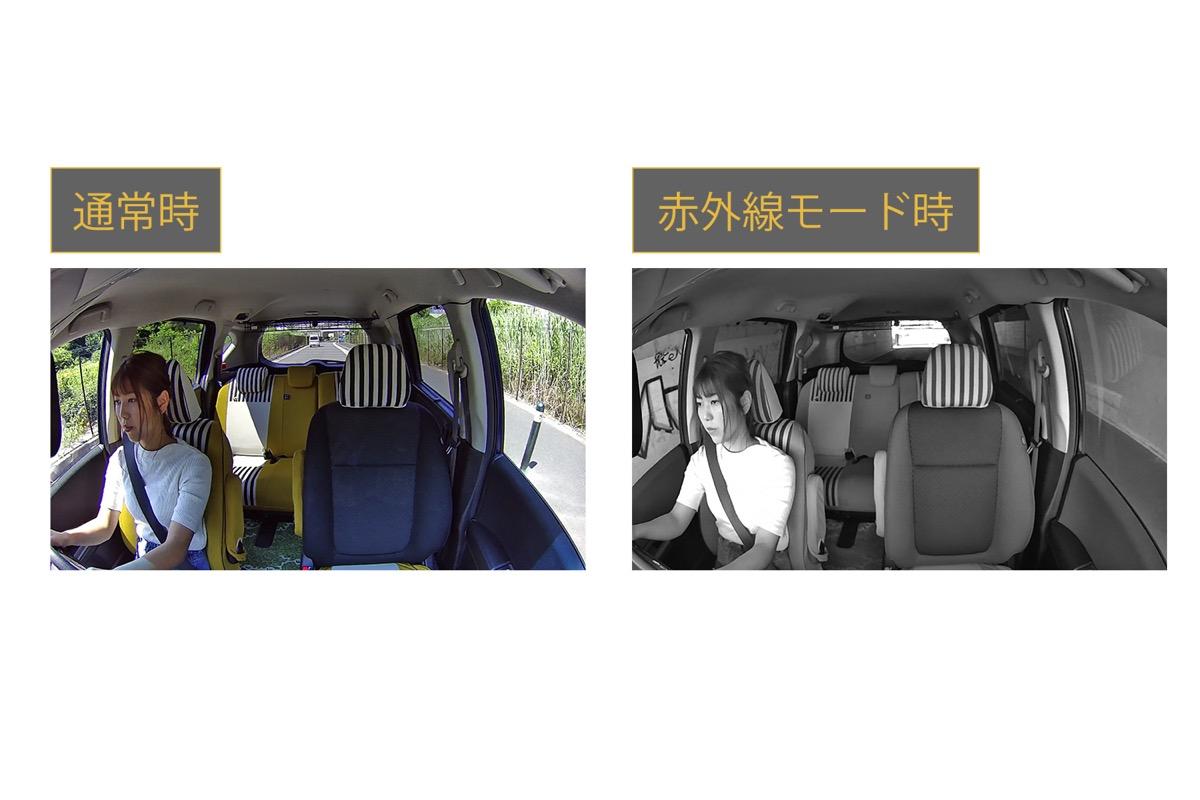 赤外線モード撮影イメージ