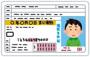 免許 証 運転